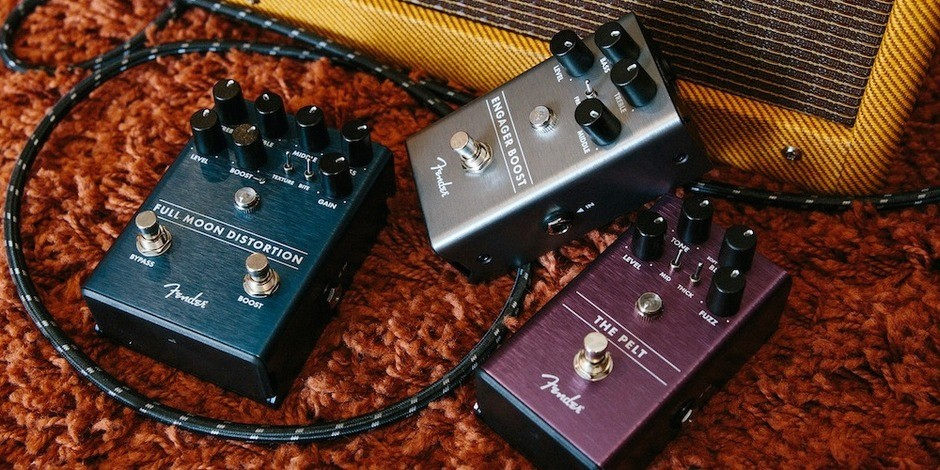 Fender Distortion, Fuzz and Boost Effects Pedals
