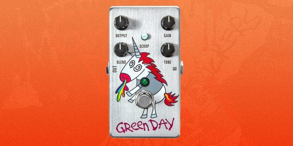 MXR Launch Green Day Dookie V3 Drive Pedal