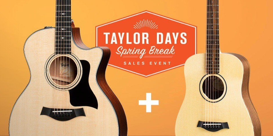 OFFER ENDED. Taylor Days Promotion - Get a FREE Baby Taylor