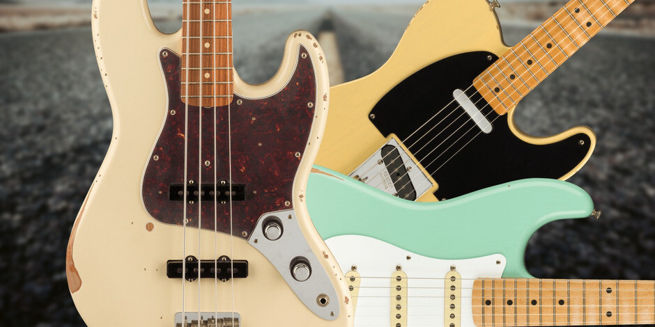 2020 Fender Limited Edition Roadworn Guitars and Basses