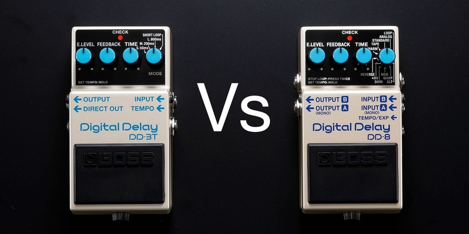 BOSS DD3T vs DD8