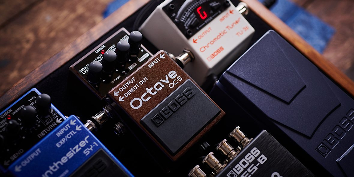 BOSS OC-5 Octave Pedal